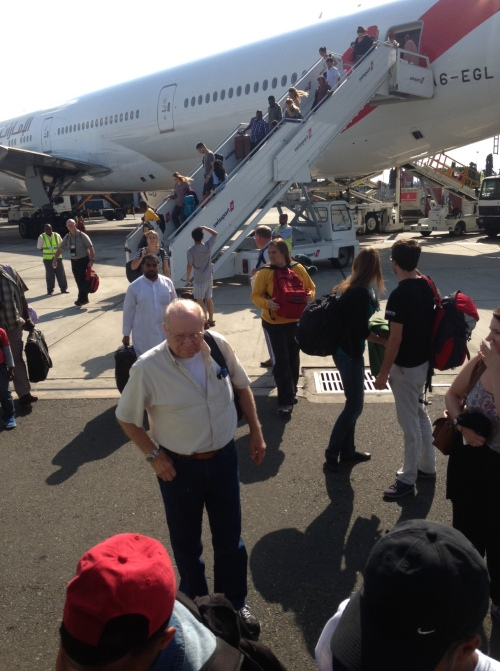 TZ 2013 Arrival